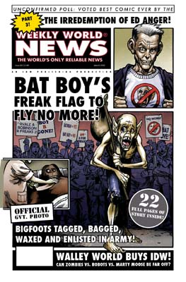 Weekly World News #3 cover