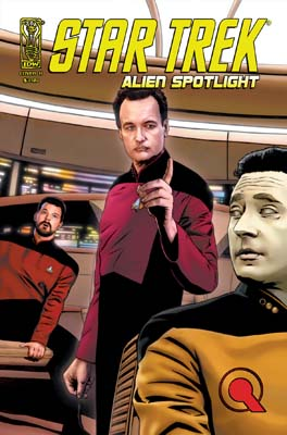 Star Trek: Alien Spotlight Q cover