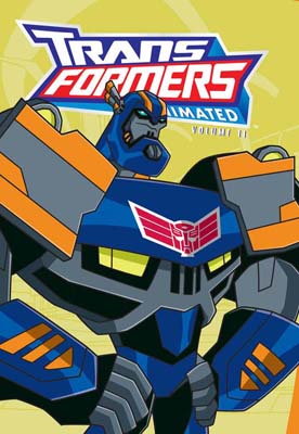 Transformers Animated Vol 11 cover