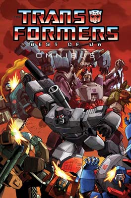 Transformers: Best of the UK Omnibus cover