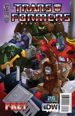 Transformers: Best of the UK: Prey #2 cover