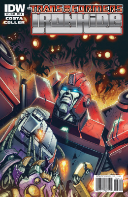 Transformers: Ironhide #2 cover