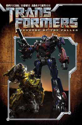 Transformers: Revenge of the Fallen movie adaptation cover