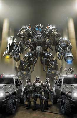 Transformers: Revenge of the Fallen Alliance cover