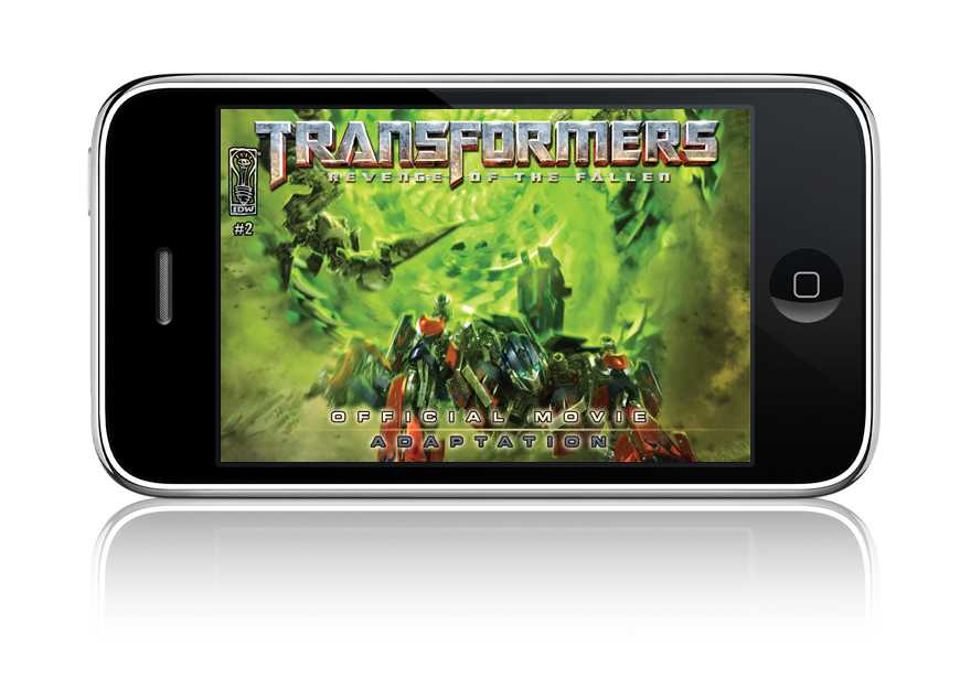 Transformers: Revenge of the Fallen iPhone