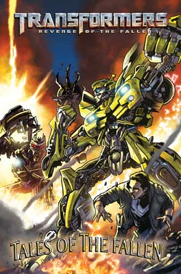 Transformers: Tales of the Fallen #1 cover