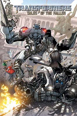 Transformers: Tales of the Fallen #2 cover