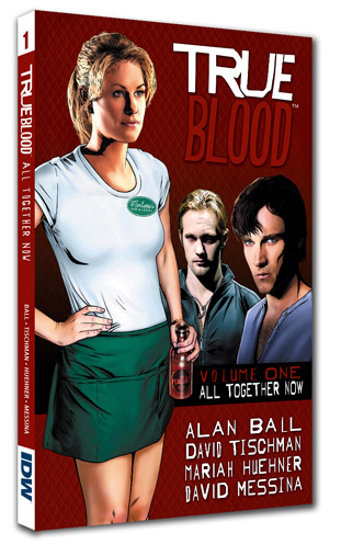 TRUE BLOOD: ALL TOGETHER NOW HC cover