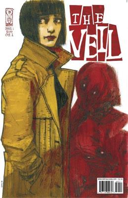 The Veil #1 cover
