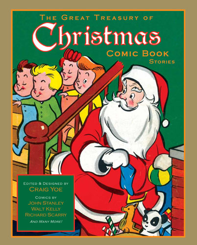 The Great Treasury of Chirstmas Comic Book Stories cover