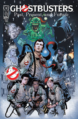 Ghostbusters Holiday Special: Past, Present and Future cover