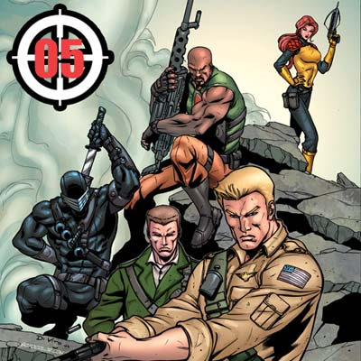 GI JOE Origins #4 app
