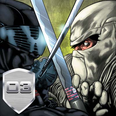 GI JOE Movie Adaptation #3 app