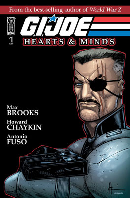 G.I. JOE: Hearts & Minds #1 cover