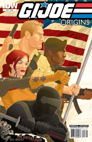 GI JOE: ORIGINS #23 Cover