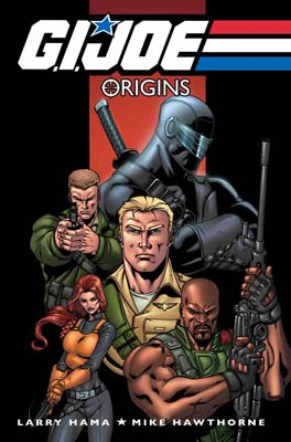 G.I. JOE: Origins TPB cover