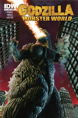 Godzilla: Monster World #1 cover