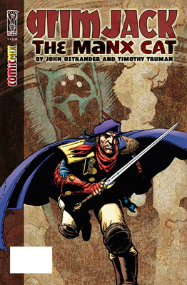 GrimJack: The Manx Cat #1 cover