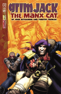 GrimJack: The Manx Cat #2 cover