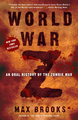 Max Brooks World War Z cover
