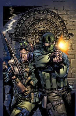 G.I. JOE Robert Atkins cover art