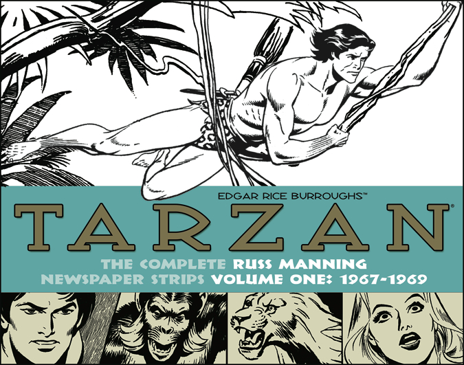 Russ Manning TARZAN Swings Back Into Action in THE COMPLETE RUSS MANNING