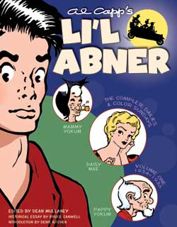 L'il Abner Volume One cover