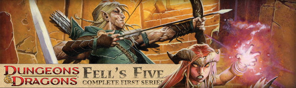 Dungeons & Dragons: Fells Five HC